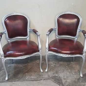2 chairs sofa upholstery Singapore
