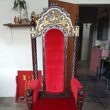 Spoilt Upholstery Chair B New