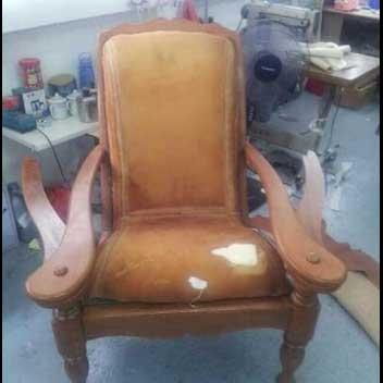 Spoilt Upholstery Chair D