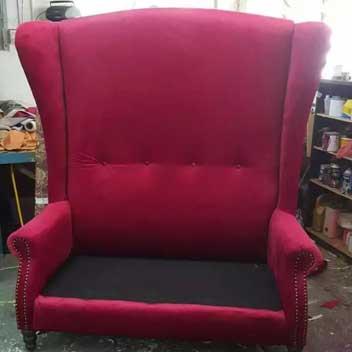 gigantic sofa seat reupholstery