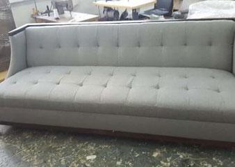 minimalist sofa reupholstery