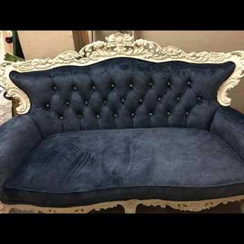 royal blue sofa upholstery