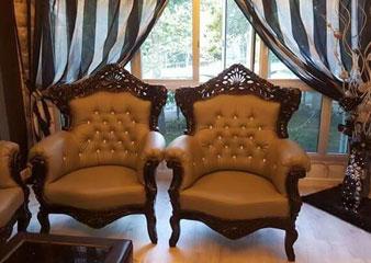 royal style sofa reupholstery